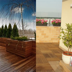 pardoseli lemn exterior
